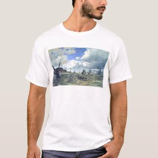 Die die Seine-Mündung bei Honfluer durch Claude T-Shirt
