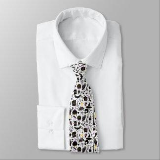 Die Die Werkzeug-Muster-Krawatte der Hexe magische Individuelle Krawatten