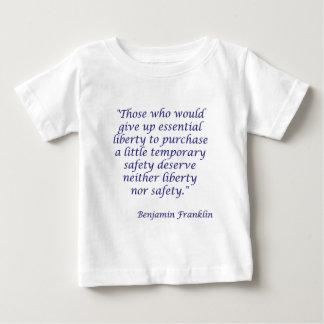 Die, die wesentliche Freiheit… aufgeben würden Baby T-shirt