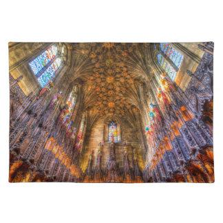 Die Distel-Kapellen-St- Gileskathedrale Edinburgh Tischset