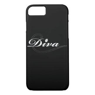 """Die Diva des Mädchens """"im Training"""" iPhone 8/7 Hülle"""