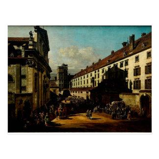 Die dominikanische Kirche in Wien Bernardo Postkarte