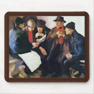 Die Dorf-Politiker durch Leibl Wilhelm Mauspads