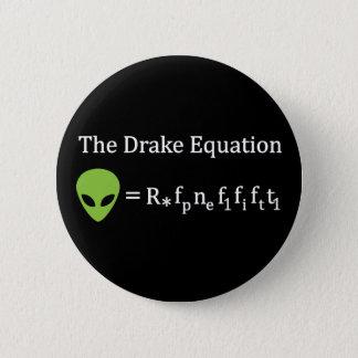 Die Drake-Gleichung Runder Button 5,1 Cm