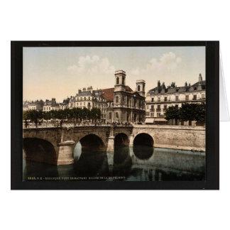 Die Drehbrücke und die Madeleine-Kirche, Karten