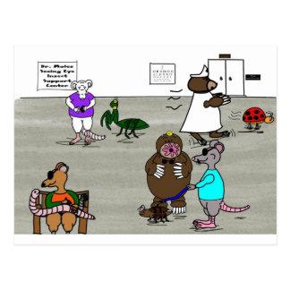 Die drei blinden Mäuse Postkarte