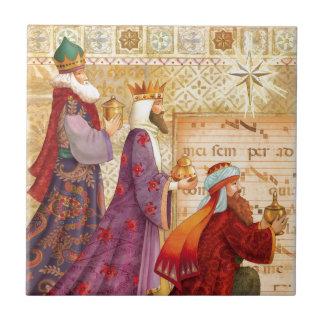 Die drei Könige Fliese