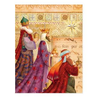 Die drei Könige Postkarte