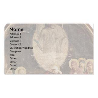 Die drei Marys am Grab von Christus Visitenkartenvorlage