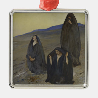 Die drei Marys Silbernes Ornament