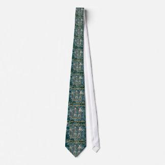 Die drei Nephites Bedruckte Krawatte