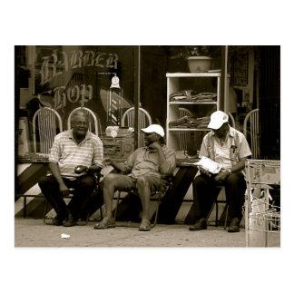 Die drei weisen Männer der Aussicht-Höhen Postkarte