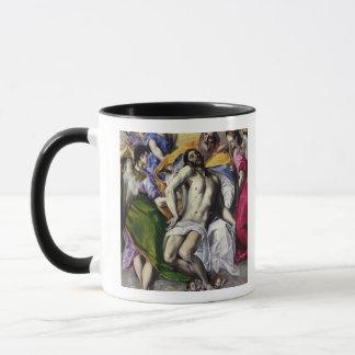 Die Dreiheit, 1577-79 (Öl auf Leinwand) Tasse