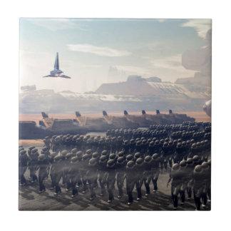 die droid Armee Fliese
