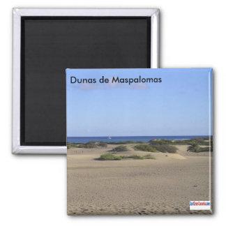 Die Dünen von Maspalomas Quadratischer Magnet