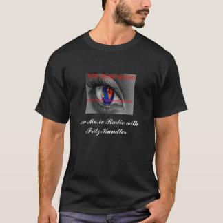 Die dunkle T der neuen Musik-Radio-Männer T-Shirt