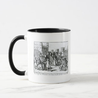 Die Durchführung des Herzogs von Monmouth Tasse