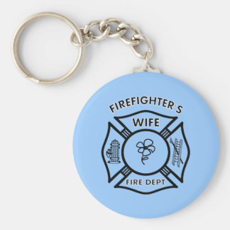 Die Ehefrau des Feuerwehrmannes Schlüsselanhänger