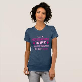 Die Ehefrau des Fotografen T-Shirt