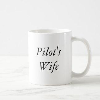 Die Ehefrau des Pilot Kaffeetasse