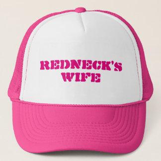 Die Ehefrau des Rednecken Truckerkappe