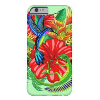 Die Eidechse und der Kolibri Barely There iPhone 6 Hülle