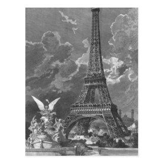Die Eiffel-Turm-universelle Ausstellung Postkarte