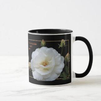Die Einfachheit der weißen Rosen macht Eleganz Tasse