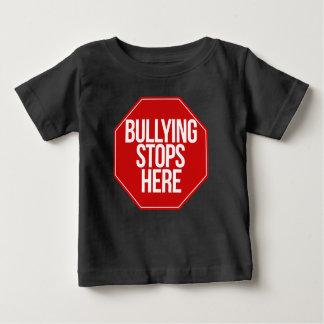 Die Einschüchterung stoppt hier Baby T-shirt