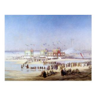 Die Einweihung Suezkanals Postkarte