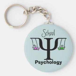 Die einzigartige Schulpsychologie-Schlüsselkette Standard Runder Schlüsselanhänger