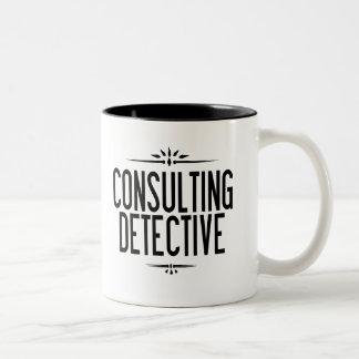 Die einzige beratender detektiv-Tasse der Welt