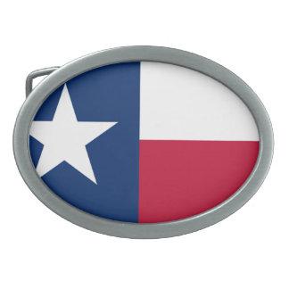 Die einzige Stern-Flaggen-Texas-Flagge Ovale Gürtelschnalle