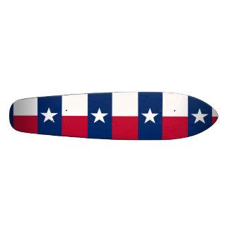 Die einzige Stern-Flaggen-Texas-Flagge Skateboarddeck