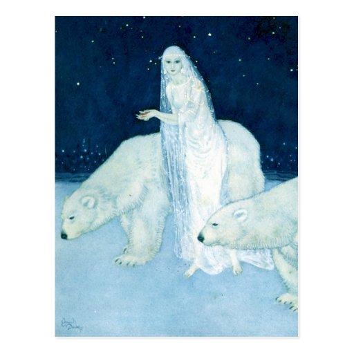 Die Eis-ErstKunst-Postkarte