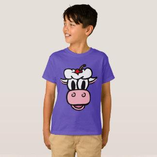 Die Eiscreme-Kuh, die liebenswürdige Kuh, die T-Shirt