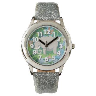 Die Elefant-Armbanduhr Armbanduhr