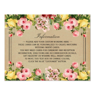 Die elegante Vintage Blumenhochzeits-Sammlung