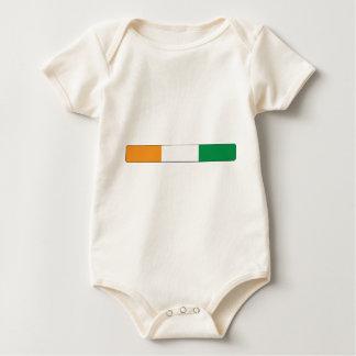 Die Elfenbeinküste/die Elfenbeinküste Baby Strampler
