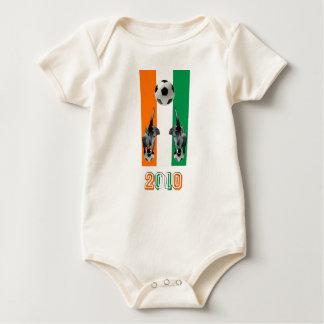 Die Elfenbeinküste-Taubenschlag D'Ivoore Baby Strampler