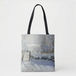 Die Elster durch schöne Kunst Claude Monets Tasche