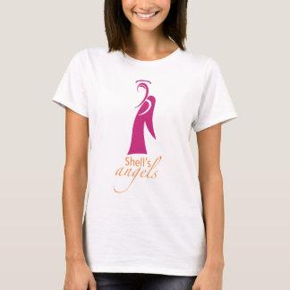 Die Engels-der Frauen der Muschel der T - Shirt