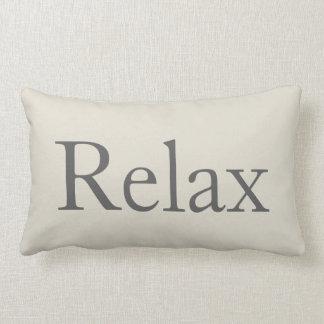 Die Entspannung entspannen sich Lendenkissen