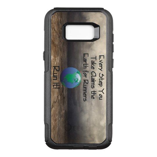 Die Erde des SPITZENläufers OtterBox Commuter Samsung Galaxy S8+ Hülle