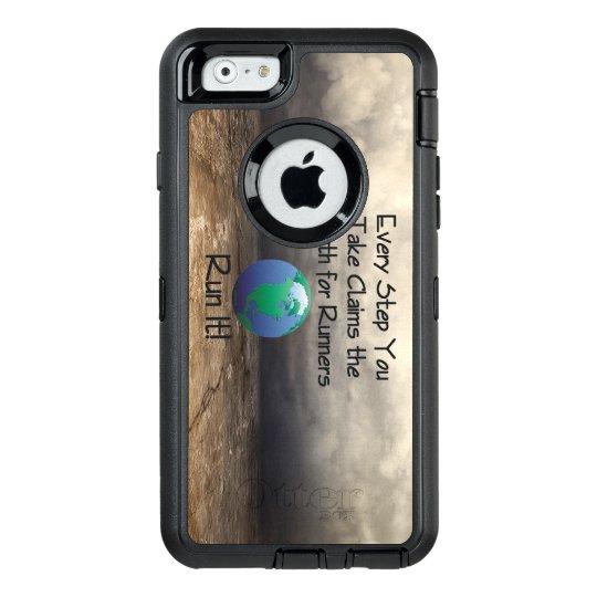 Die Erde des SPITZENläufers OtterBox iPhone 6/6s Hülle