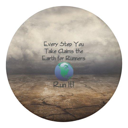 Die Erde des SPITZENläufers Radiergummi 1
