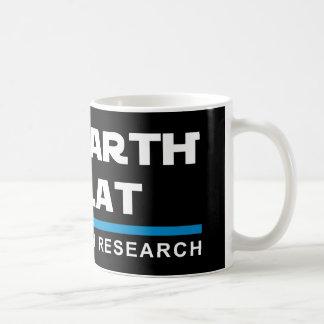 Die ERDE IST FLACHE Kaffee-Tasse Kaffeetasse