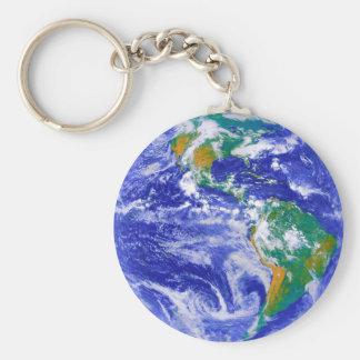 Die Erde - unser Zuhause Keychain Standard Runder Schlüsselanhänger