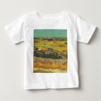 Die Ernte. Arles, CA 12. Juni 1888 Baby T-shirt