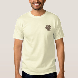 Die Erntedank-Türkei ~ Feiertags-Kleidung Besticktes T-Shirt